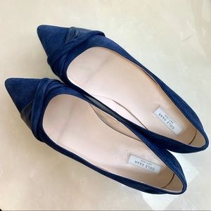 Cole Haan Hadley Detail suede pointed flats Sz 7.5